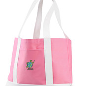 Sanderlin Embroidered Cruiser Tote