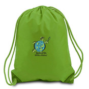 Sanderlin Embroidered Drawstring Back Pack
